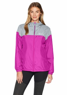 Columbia Women's Flash Forward Lined Windbreaker Deep Blush/Tradewinds Grey