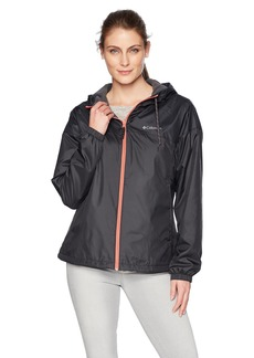 Columbia Women's Flash Forward Lined Windbreaker Jacket Shark/Black