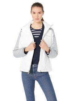 Columbia Women's Gotcha Groovin Jacket White Colm Grey Emboss M