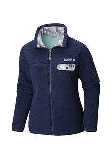 23c01703b Columbia Women's Harborside Heavy Weight Full Zip Fleece Jacket