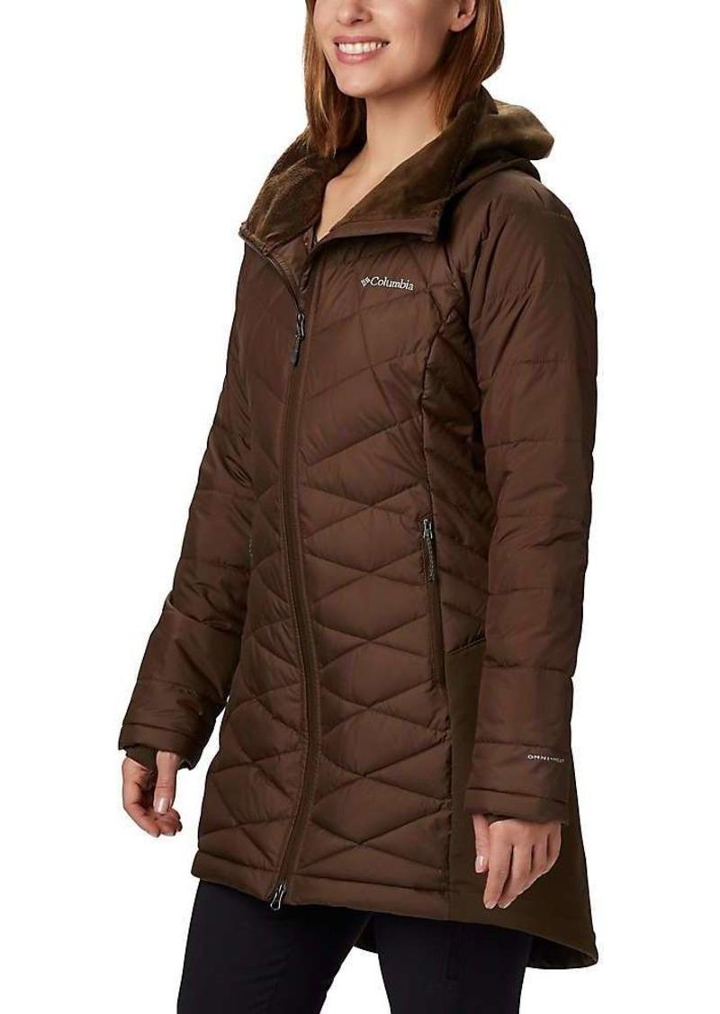 Columbia Women's Heavenly Long Hybrid Jacket