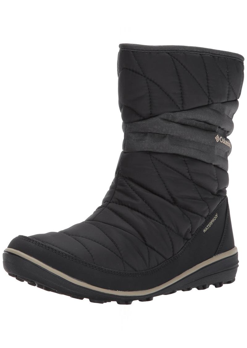 Columbia Women's Heavenly Slip II Omni-Heat Ankle Boot Black Silver sage  Regular US