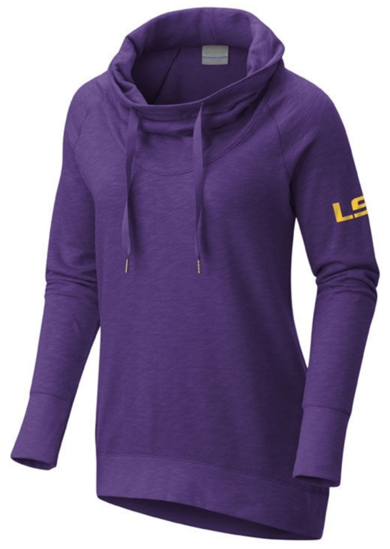 d2e67393806 Columbia Columbia Women s Lsu Tigers Down Time Hooded Tunic