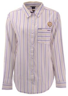 Columbia Women's Lsu Tigers Sundrifter Button Up Shirt