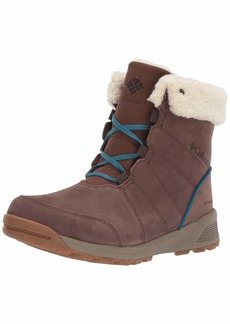 Columbia Women's MARAGAL Waterproof Snow Boot Espresso MHW Lagoon 5 Regular US