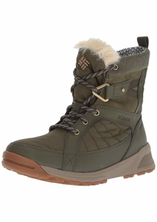 Columbia Women's Meadows Shorty Omni-Heat 3D Mid Calf Boot nori Pebble  Regular US