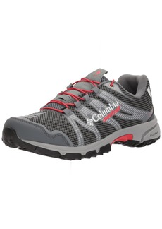 Columbia Women's Mountain Masochist IV Outdry Trail Running Shoe Graphite red Camellia  B US