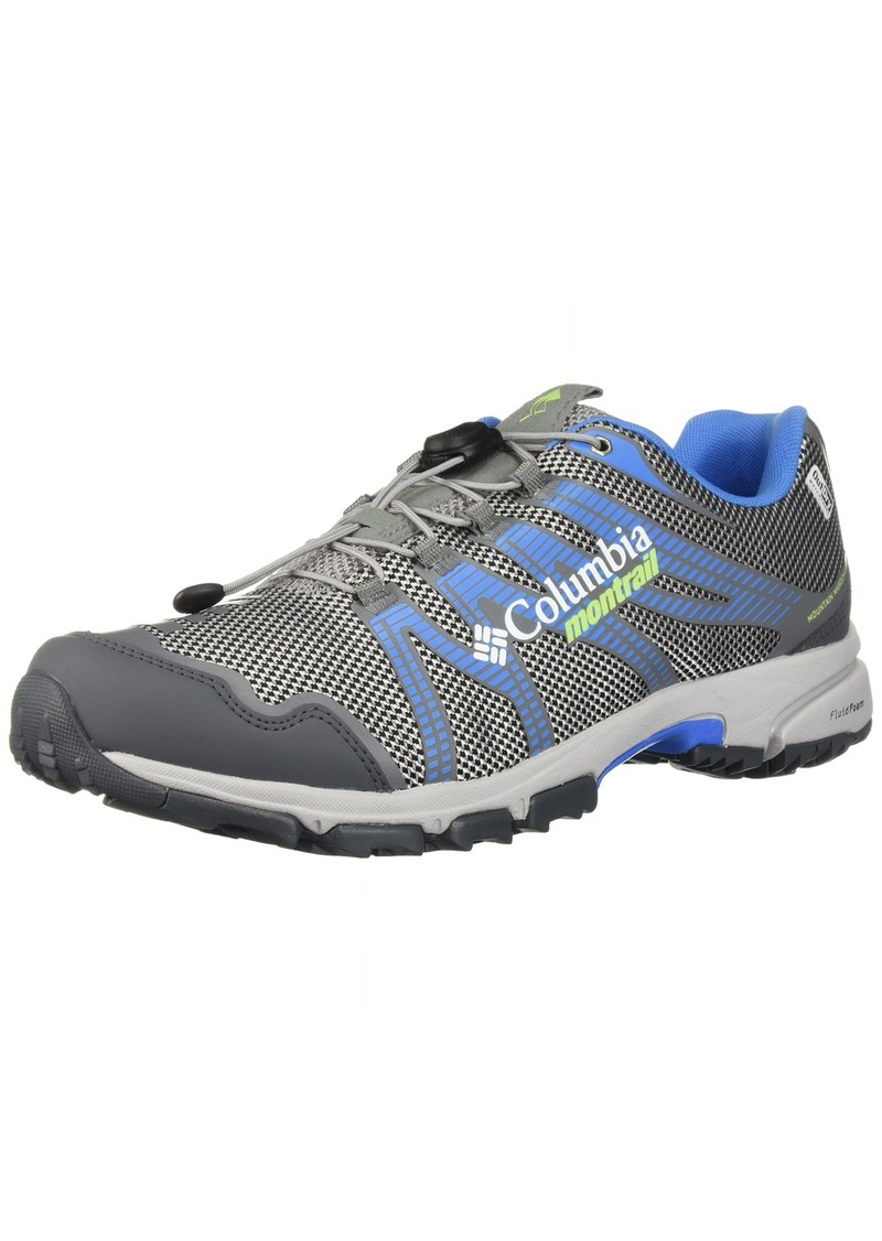 Columbia Women's Mountain Masochist IV Outdry Trail Running Shoe steam Jade Lime  B US