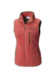 Columbia Women's Mountain Side Heavyweight Fleece Vest