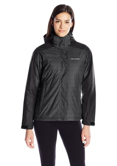 Columbia Women's Nordic Cold Front Interchange Jacket Ruby Red/Nocturnal