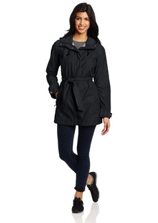 Columbia Women's Pardon My Trench Rain Jacket Outerwear black L
