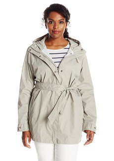 Columbia Women's Pardon My Trench Rain Jacket Plus Size