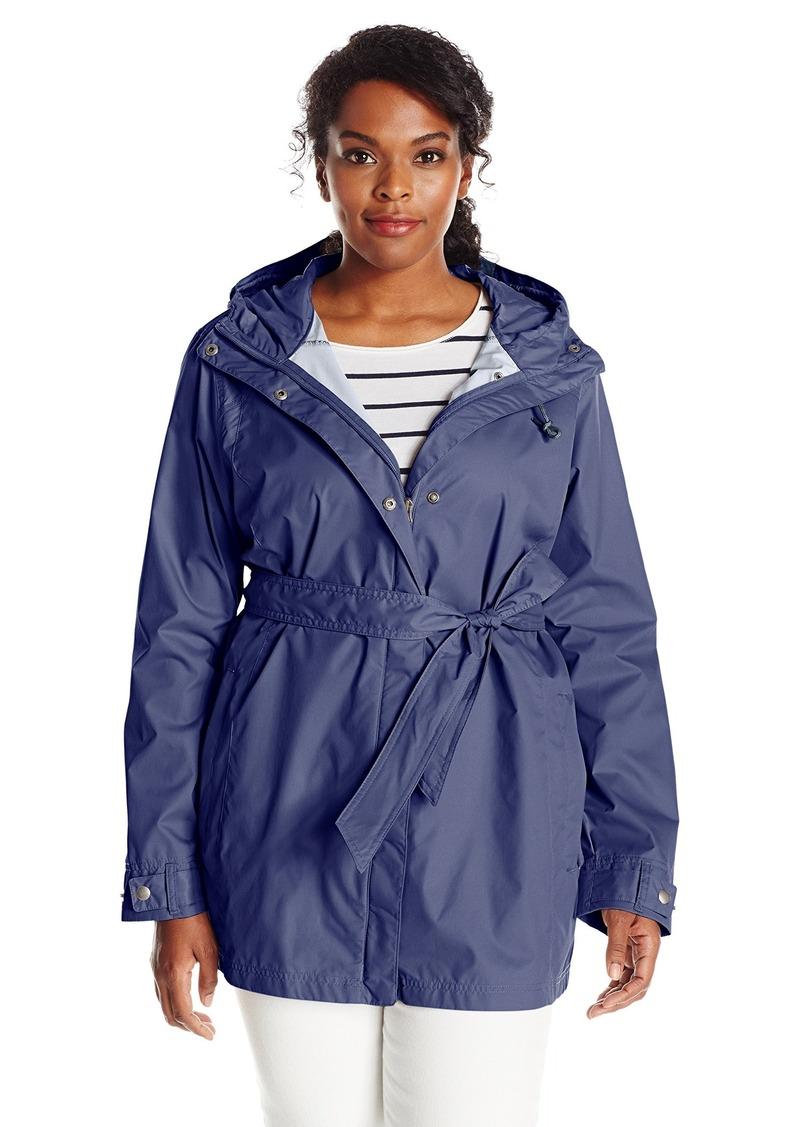 2f733d5532be5 Columbia Women s Plus-size Pardon My Trench Plus Size Rain Jacket Outerwear  nocturnal