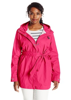 Columbia Women's Pardon My Trench Rain Jacket Plus Size