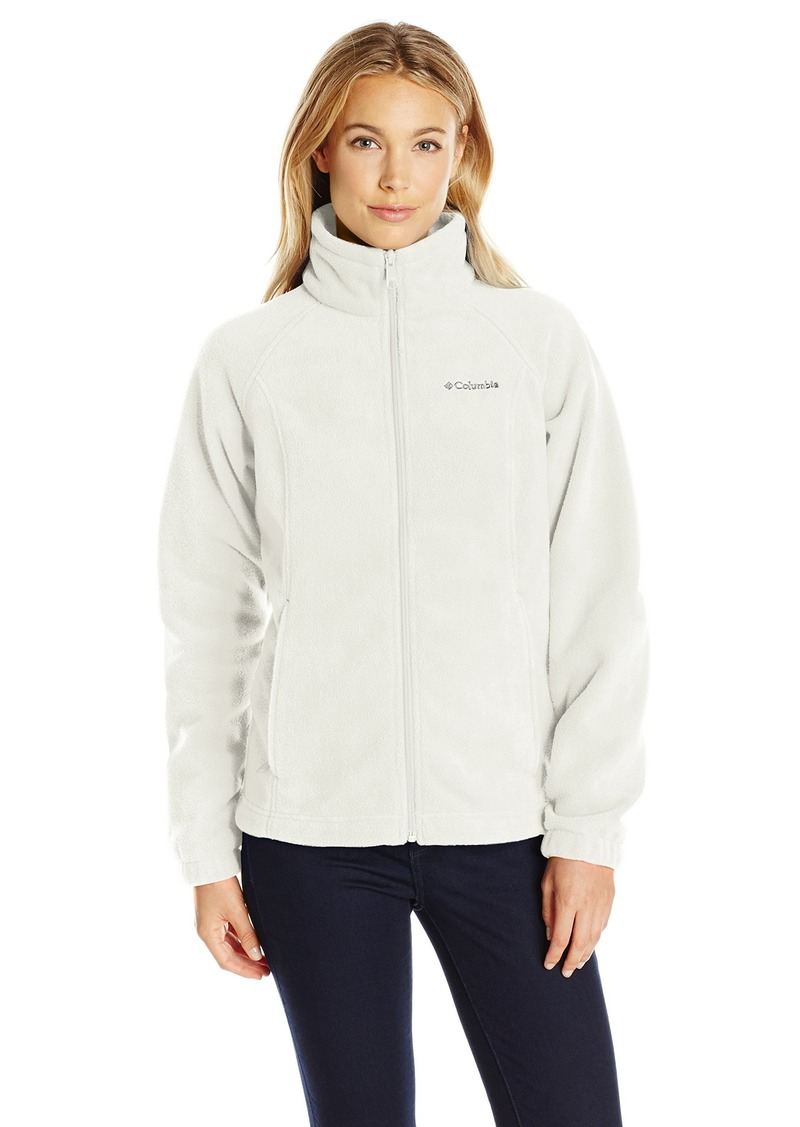 1ac86d2791bd4 Columbia Women's Petite Benton Springs Full Zip Fleece Jacket - Medium -