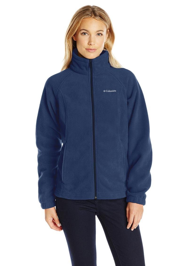 Columbia Women's Petite Benton Springs Full Zip Fleece Jacket - Medium -