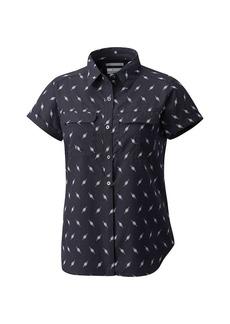 Columbia Women's Pilsner Peak Novelty SS Shirt