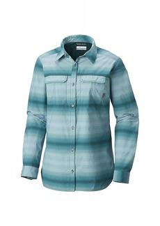 Columbia Women's Pilsner Peak Ombre Stripe LS Shirt