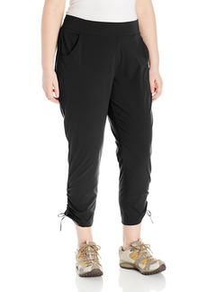 Columbia Women's Plus Size Anytime Casual Ankle Pant  1XxR
