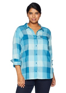 Columbia Women's Plus Size Anytime Casual Stretch Shirt