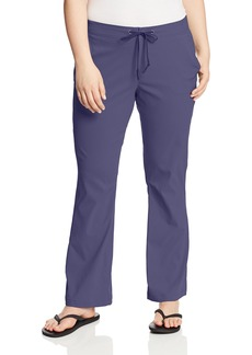 Columbia Women's Plus-size Anytime Outdoor Plus Size Boot Cut Pant Pants -nocturnal 18WxR