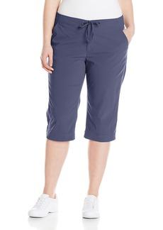 Columbia Women's Plus-size Anytime Outdoor Plus Size Capri Pants -nocturnal 24Wx18