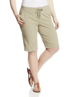 Columbia Women's Plus-size Anytime Outdoor Plus Size Long Short Shorts tusk 24Wx13