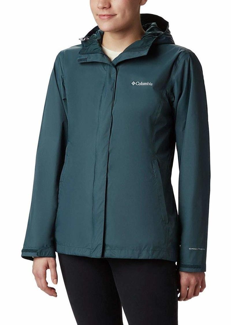 Columbia Columbia Women's Plus Size Arcadia II Jacket Dark seas Overtøj  Outerwear