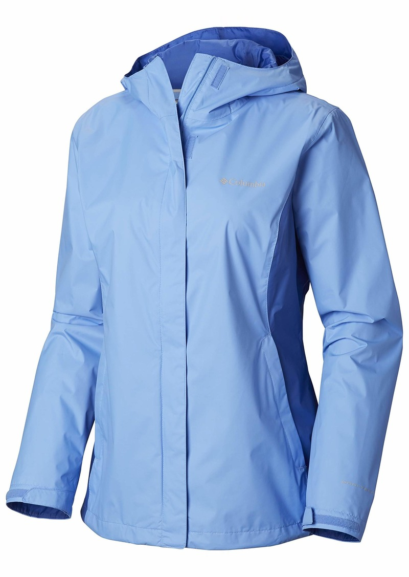 Columbia Women's Plus Size Arcadia II Jacket White Cap/Arctic Blue