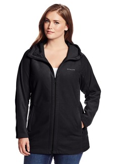 Columbia Women's Plus-Size Benton Springs II Long Hoodie Plus