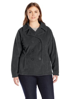 Columbia Women's Plus Size Benton Springs Pea Coat