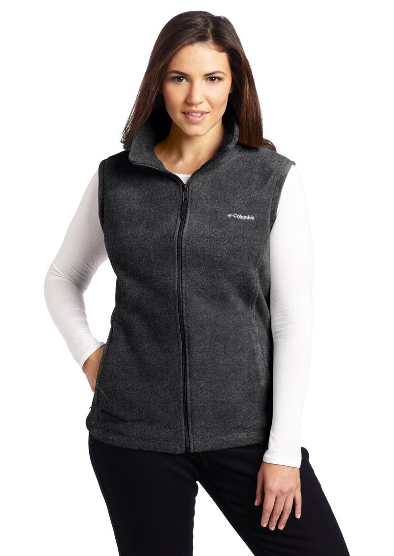 Women's Plus Size Benton Springs Vest Plus CharcoalHeather