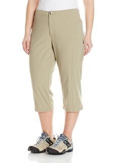 Columbia Women's Plus-size Just Right Ii Plus Size Capri Pants -tusk 18Wx20