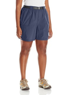 Columbia Women's Plus-Size Sandy River Cargo Short Nocturnal/Grill