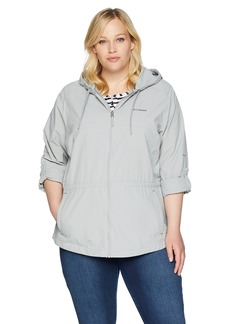 Columbia Women's Plus Size Sandy River Jacket Grey Gravel