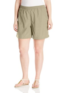 Columbia Women's Plus-Size Sandy River Plus Size Short Shorts tusk x6