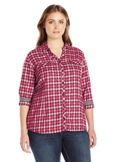Columbia Women's Plus-Size Simply Put II Flannel Shirt