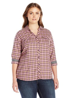 Columbia Women's Plus-Size Simply Put II Flannel Shirt
