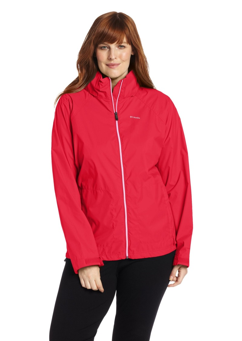 ad59abc2e10 Columbia Women s Plus-size Switchback Ii Jacket Outerwear -red camellia