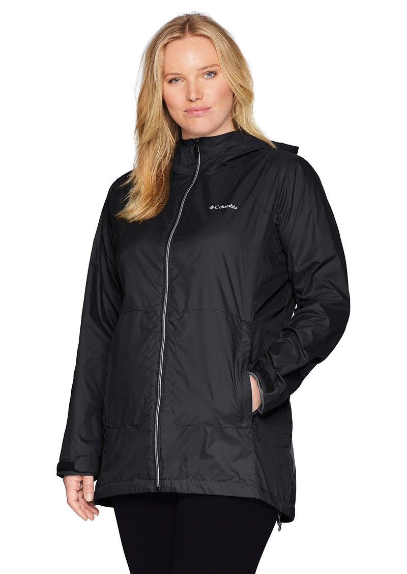 Columbia Women's Plus Size Switchback Lined Long Jacket  2X