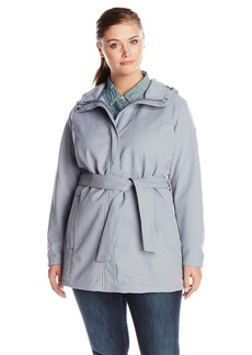 Columbia Women's Plus-Size Take To The Streets Trench Plus  2X