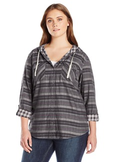 Columbia Women's Plus-Size Times Two Hooded Long Sleeve