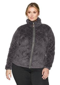 Columbia Women's Plus Sizefire Side Sherpa Full Zip Size Fire Jacket