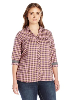 Columbia Women's Plus SizeSimply Put Ii Flannel Shirt Size