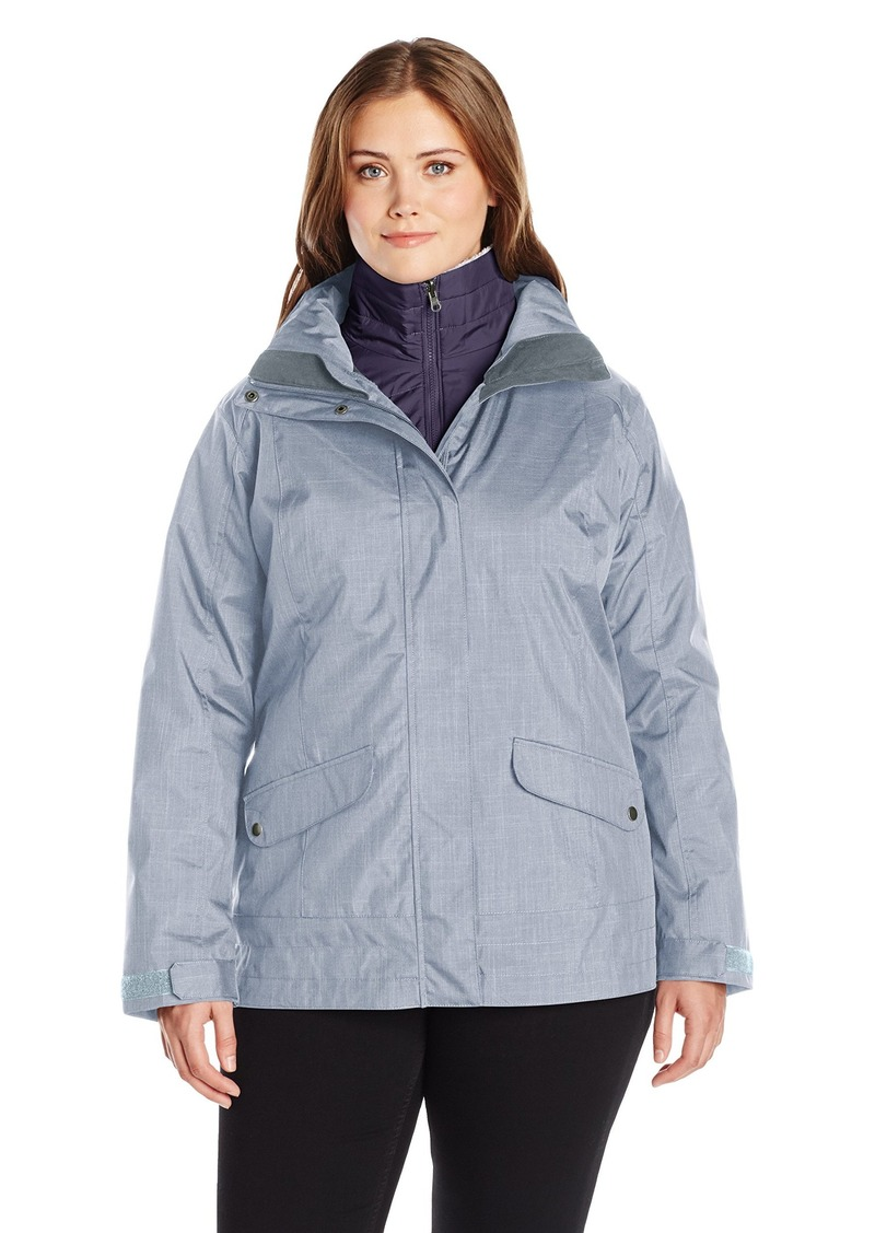 Columbia Women's Plus SizeSleet to Street Interchange Jacket Sleet