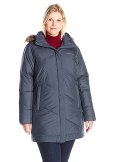 Columbia Women's Plus Sizesnow Eclipse Mid Jacket Size Snow Length