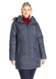 Columbia Women's Plus Sizesnow Eclipse Mid Jacket Size Snow Length