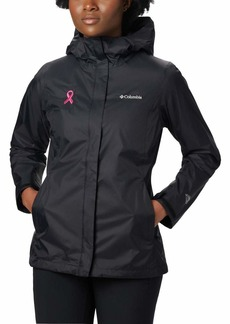 Columbia Women's Tested Tough in Pink Rain Jacket II