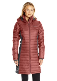 Columbia Women's Powder Pillow Hybrid Long Jacket  XS
