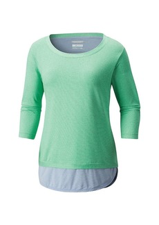 Columbia Women's Real Relaxed 3/4 Sleeve Shirt